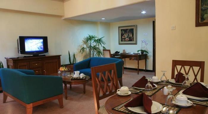 Hotel Sahid Kawanua Manado - Ruang tamu