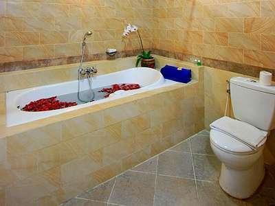 The Taman Ayu Hotel Seminyak -  Kamar Super Deluxe kamar mandi