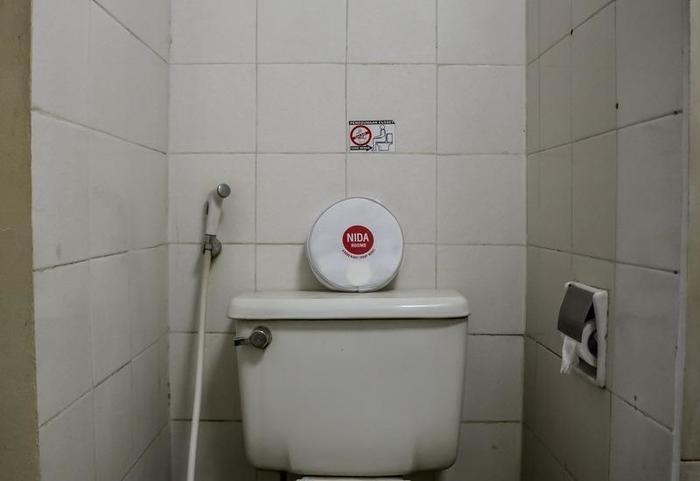 NIDA Rooms Bandung Square Pearl Batununggal - Kamar mandi