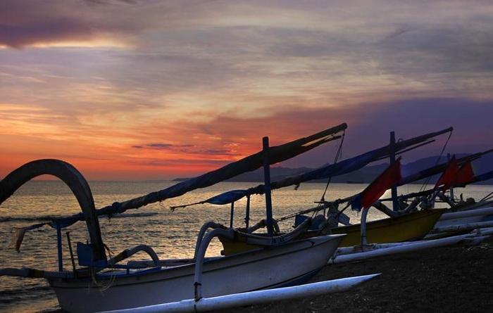 Puri Bagus Candidasa Bali - Pemandangan Pantai