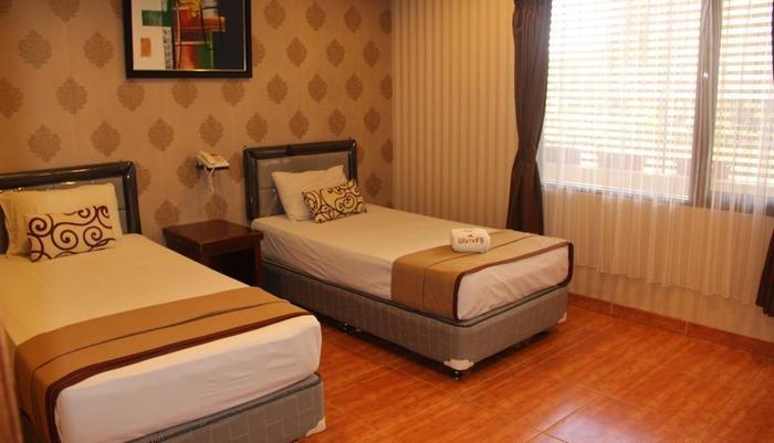 Wisma Aji Yogyakarta - Deluxe Tempat Tidur Twin