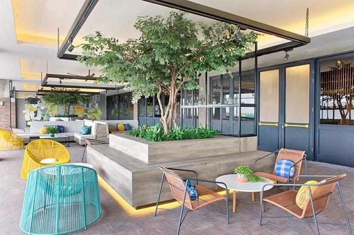 Rooms Inc Hotel Semarang - Alfresco Restaurant