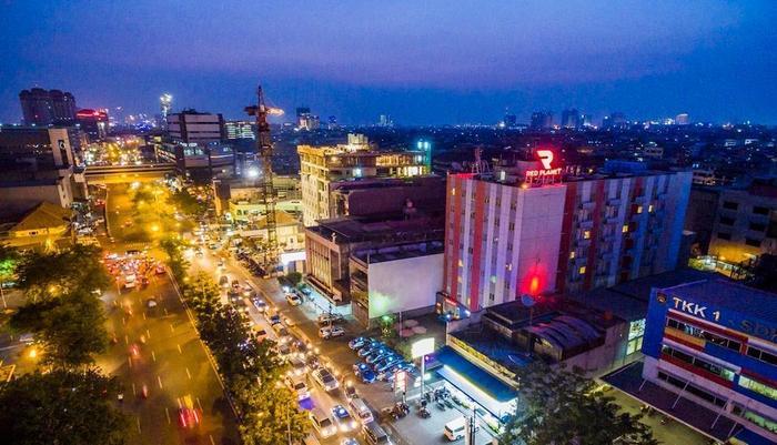Red Planet Pasar Baru Jakarta - Exterior