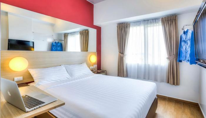 Red Planet Jakarta Pasar Baru - Double Bed Room