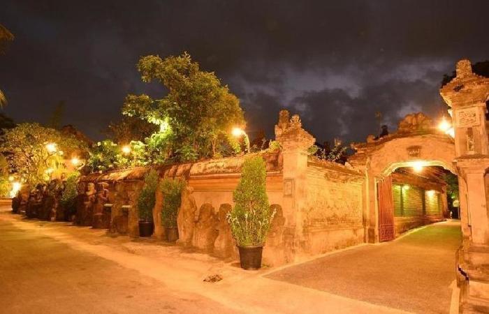 Tukad Mas Cottages Bali - pintu gerbang