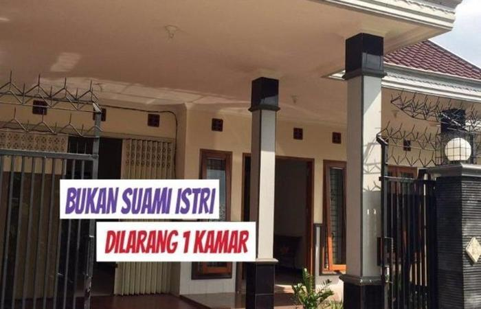 Yamur Homestay Syariah Malang - pintu gerbang