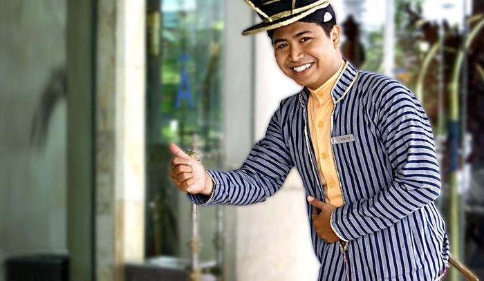 Hotel Melia Purosani Yogyakarta - Pintu Masuk