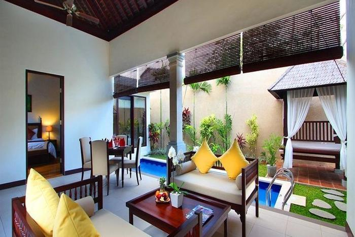 Transera Grand Kancana Villas Bali - Ruang tamu