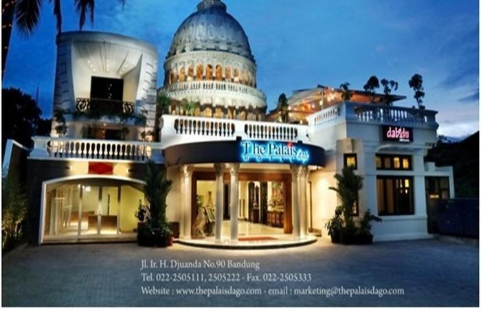 The Palais Dago Hotel Bandung - Tampilan Luar Hotel