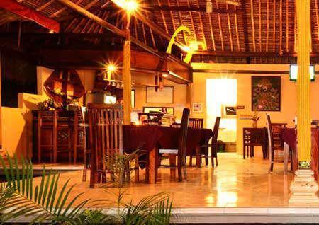 Mushroom Garden Villas Bali - restaurant