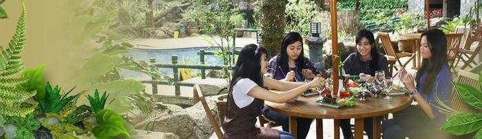 Safari Lodge Cisarua - Caravan Restaurant