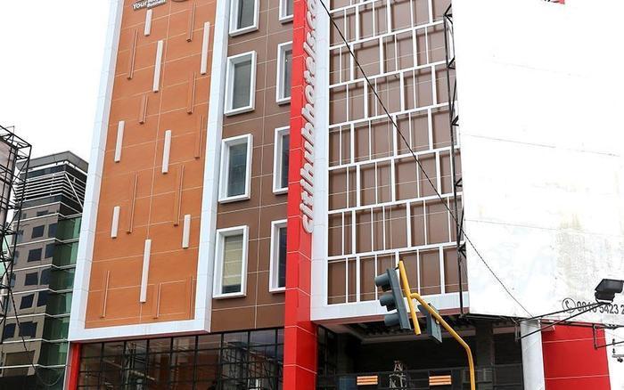 Grand Citihub Hotel Panakkukang - Facade