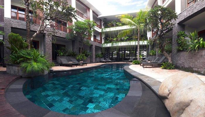 Akana Boutique Hotel Sanur Bali - Akana Kolam Renang