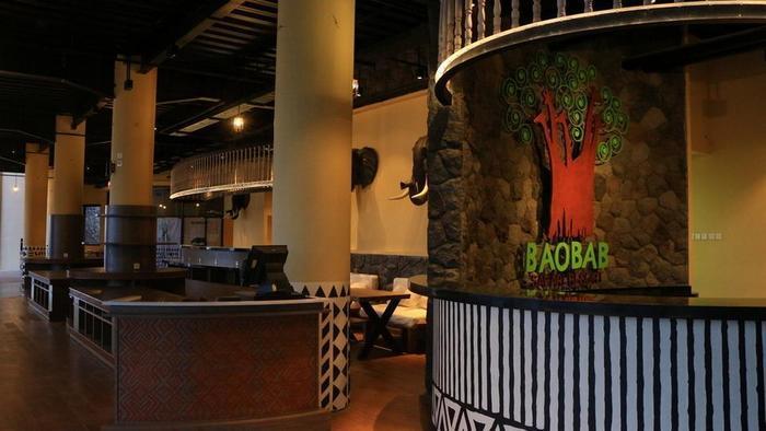 Baobab Safari Resort Pasuruan - Restaurant