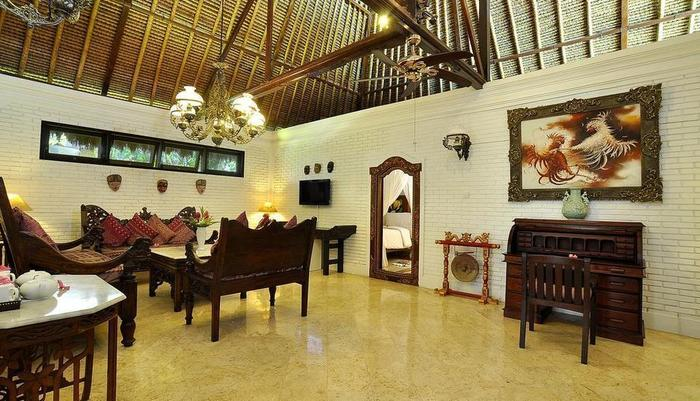 Puri Mas Boutique Resort & Spa Lombok - Living room