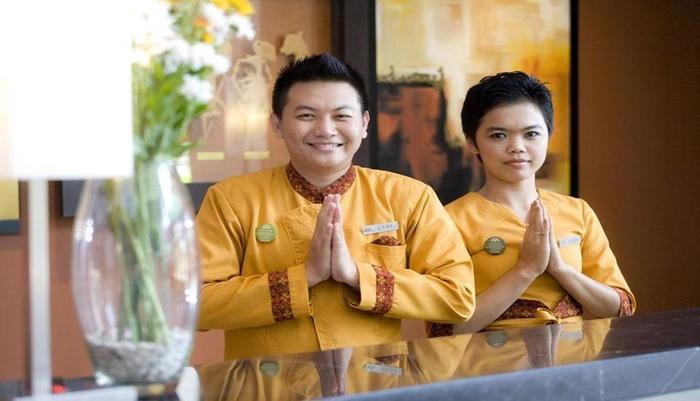 Grand Surya Hotel Kediri - Reception