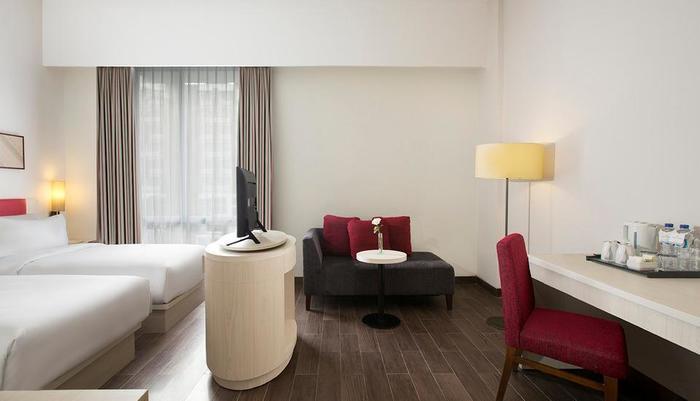 Hotel Santika Pekalongan - Kamar Deluxe Twin