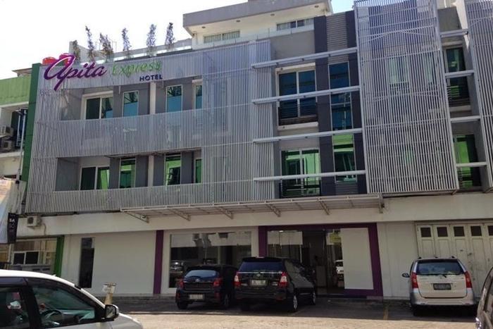 Apita Express Cirebon - Tampilan Luar Hotel
