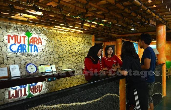 Mutiara Carita Cottages Pandeglang - Reception