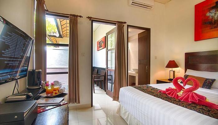 Black Penny Villas Trawangan Lombok - Kamar tamu