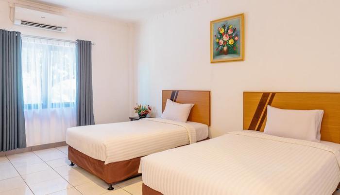 Demuon Hotel Belitung - standar tempat tidur twin