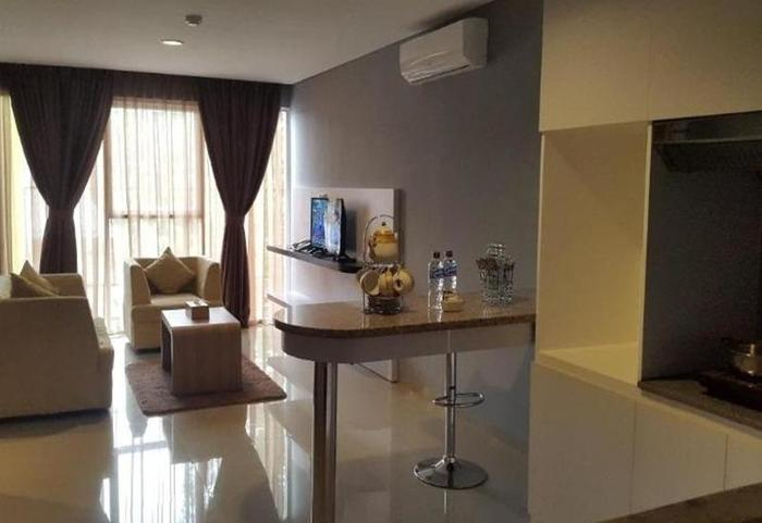 Durian Condotel Suite Makassar - Ruang tamu