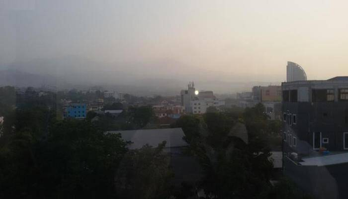 Green Eden Hotel Manado - pemandangan