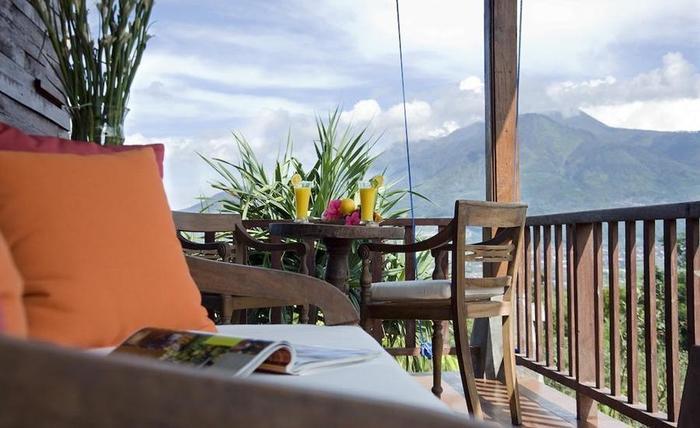 Villa Mulyono Malang - Balkon