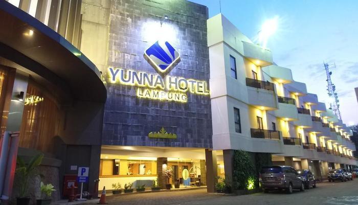 Yunna Hotel Lampung - exterior Yunna Hotel