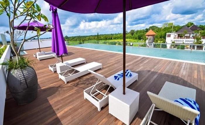 The Evitel Resort Ubud Bali - Kolam Renang