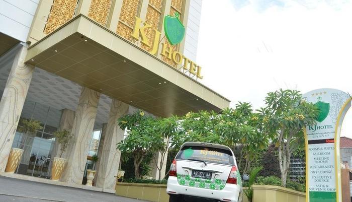 KJ Hotel Yogyakarta Yogyakarta - tampak depan