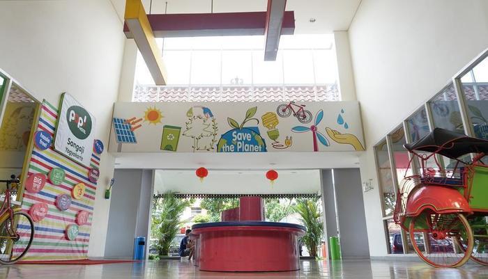 POP! Hotel Sangaji Yogyakarta - Lobby