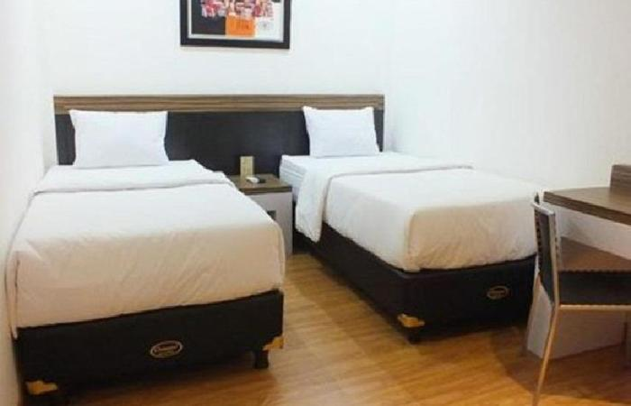 Gania Hotel Bandung - tempat tidur Twin