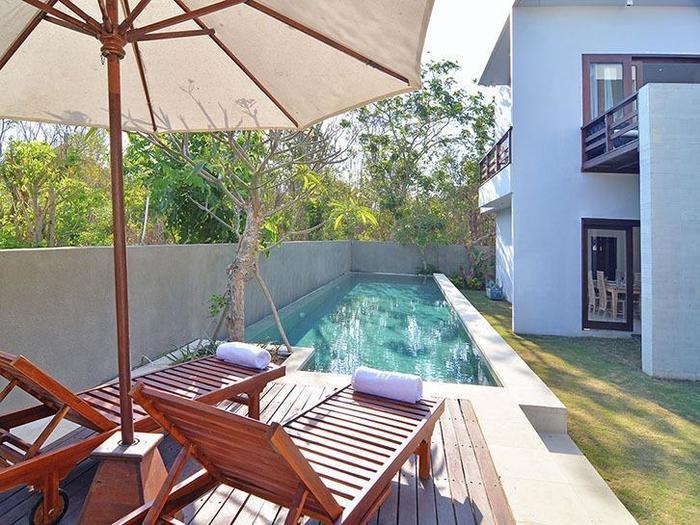 Scene Estate Bali - Dek berjemur