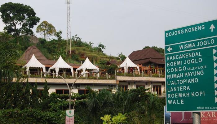 Wisma Joglo Hotel Bandung - Hotel View