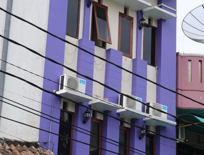 Unique Guest House Bandung - Tampilan Luar