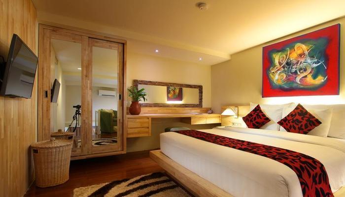 Pandawa All Suite Hotel Bali - Kamar tempat tidur King