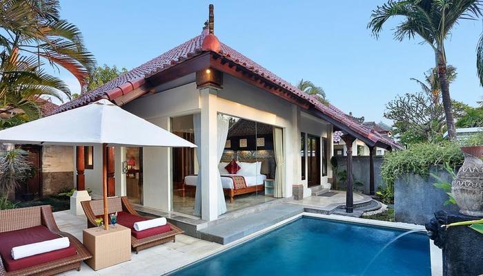 The Club Villas Bali - Villa 1 Kamar Kolam Renang, Kolam Renang Pribadi