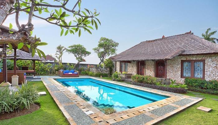The Club Villas Bali - Villa Keluarga Kolam tiga, Kolam Renang Pribadi