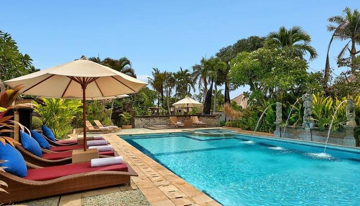The Club Villas Bali - Kolam renang utama