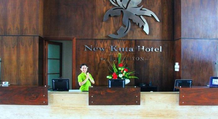 New Kuta Hotel Bali - Resepsionis