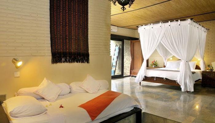 Hidden Paradise Cottages Bali - Kamar Keluarga