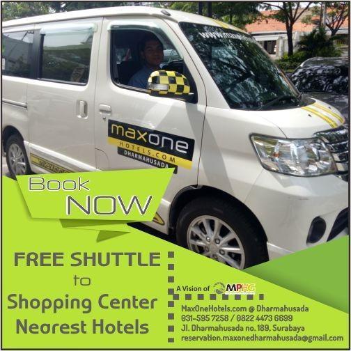 MaxOneHotels at Dharmahusada  Surabaya - FREE SHUTTLE