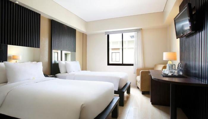 Hotel Santika Kuta Bali - Kamar Deluxe Twin