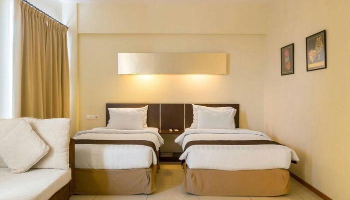 Garuda Plaza Hotel Medan - Kamar Deluxe Twin