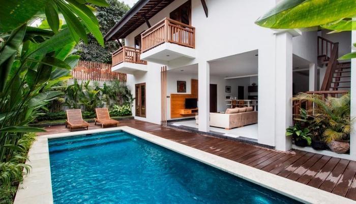 Delu Villas and Suite Bali - Dua kamar tidur vila kolam renang pribadi