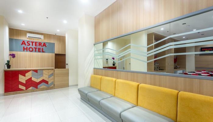 Astera Hotel Bintaro - resepsionis