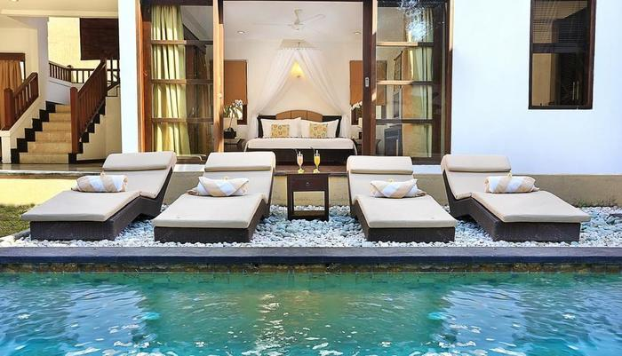 Dampati Villas Bali - Kolam Renang Pribadi
