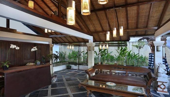 Dampati Villas Bali - Resepsionis