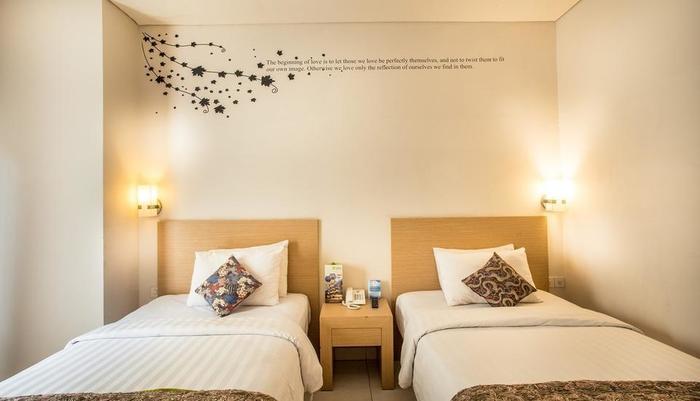 The Tusita Hotel Bali - Kamar Deluxe twin